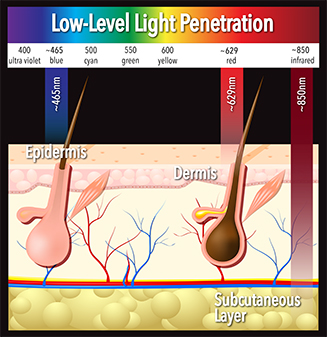 LED Light therapy chart
